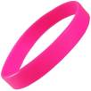 Express Silicone Wristbands in Pink