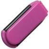 Folding Hairbrush in Pink