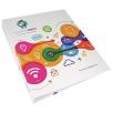 Full Colour A4 Ringbinders in White