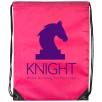 Full Colour Drawstring Bags in Pink