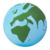Globe Stress Toy in Light Blue/Green