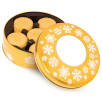 Gold Shortbread Biscuit Tins