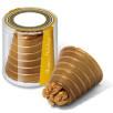 Golden Walnut Whirls