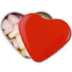 Promotional Heart Sweet Tins for Business Gifts