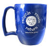 Kafo Recycled Mugs in Blue