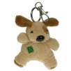 Keychain Dog in Beige