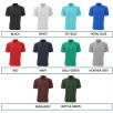 Lightweight Pique Polo Shirts