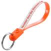 Loopy Keyrings in Orange