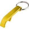Metal Bottle Opener Keyholders in Yellow