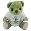 Mini Candy Bears in T Shirts in Lime