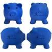 Mini Piggy Banks in Blue
