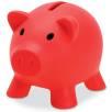 Mini Piggy Banks in Red