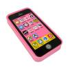 Mini Phone Erasers in Pink