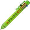 Multi Ink Ballpoint Pens in Lime