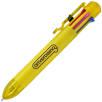 Multi Ink Ballpoint Pens in Yellow