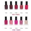 Nail Varnish Red & Pink Tones