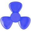 Petal Fidget Spinners in Transparent Blue