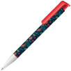 Photo Print Super Hit Ballpen in White/Strawberry Red 186