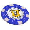Poker Chip Golf Ball Markers in Blue