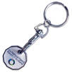 Printed Trolley Coin Token Keyring