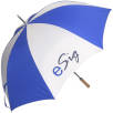 Promo Budget Golf Umbrella in Royal Blue/White