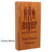 Real Wood Block Awards in Cherry