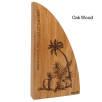 Real Wood Block Awards in Oak