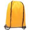 Reflective Drawstring Backpacks in Yellow
