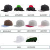 These customised caps are available in a wide range of colours!