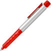 Silver Syringe Ballpens in Silver/Red