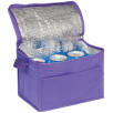 Small Fold Away Cooler Bags in Purple