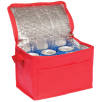 Small Fold Away Cooler Bags in Red
