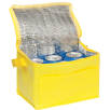 Small Fold Away Cooler Bags in Yellow