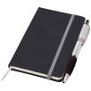 Small Noir Notebooks with Pen in Black/Silver