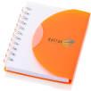 Small Spiral Notebooks in Orange