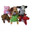 Soft Toy Animal Keyrings