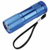 9 LED Metal Torches in Blue