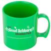 Standard Plastic Mugs in Green