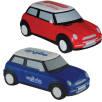 Printed Mini Cooper Shaped Stress Balls for Motoring Companies