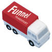 Stress Cargo Truck in Off White/ Red