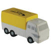 Stress Cargo Truck in Off White/ Yellow