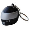 Stress Crash Helmet Keyrings in Black