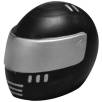 Stress Crash Helmets in Black