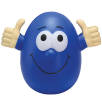 Stress Rocking Eggs in Blue