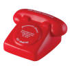 Stress Telephone in Red