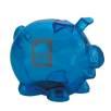 Translucent Piggy Bank in Translucent Blue
