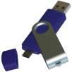 Twist Flashdrives with Micro USB