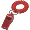 Whistle and Cord in Red