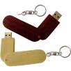 USB Eco Wooden Twist Flashdrives