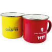 Any Colour Enamel Mugs